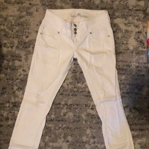 Charlotte Russe white pants